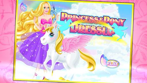 Princess pony dressup