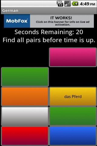 Learn German Fast - screenshot