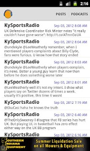Kentucky Sports Radio (KSR) - screenshot thumbnail