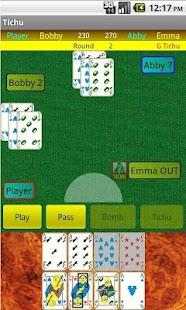 Tichu- screenshot thumbnail