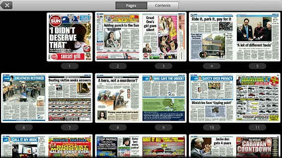 Toronto Sun e-edition- screenshot thumbnail