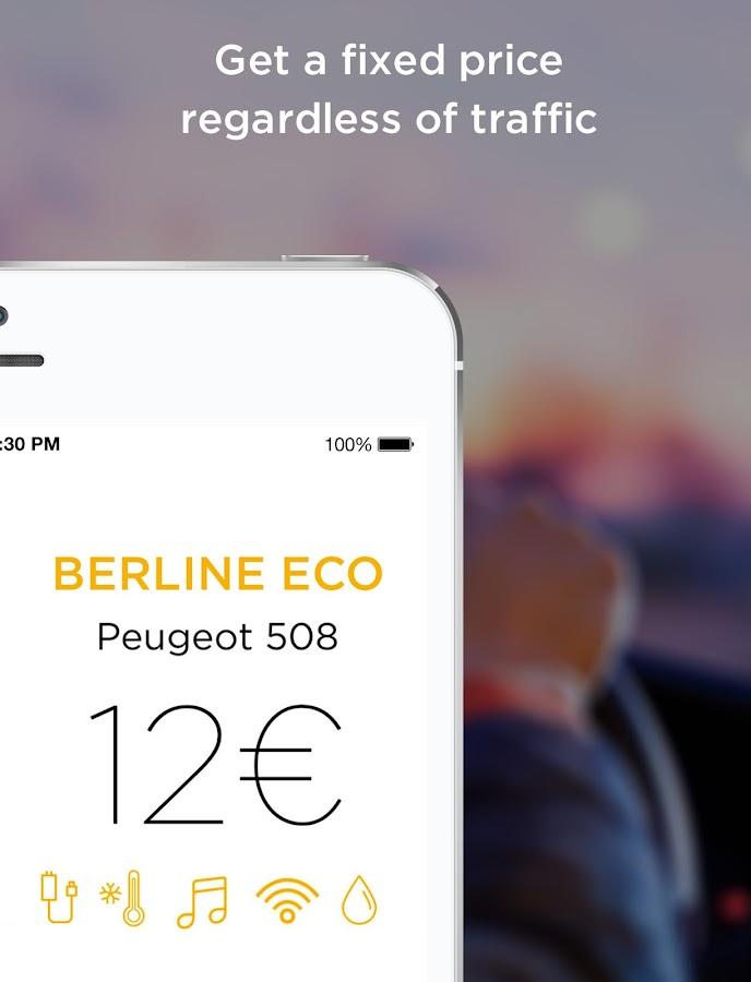 Allocab Private Cab Driver - screenshot