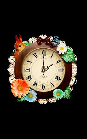 Screenshots for A natural  woods girl clock