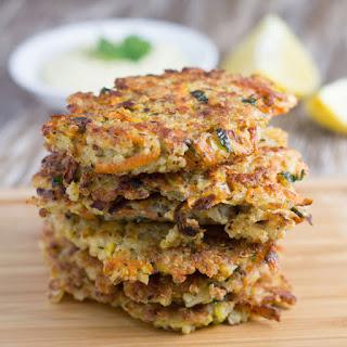 Quinoa Fritters with Healthy Garlic Aioli Recipe