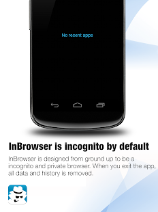InBrowser - Incognito Browsing - screenshot thumbnail