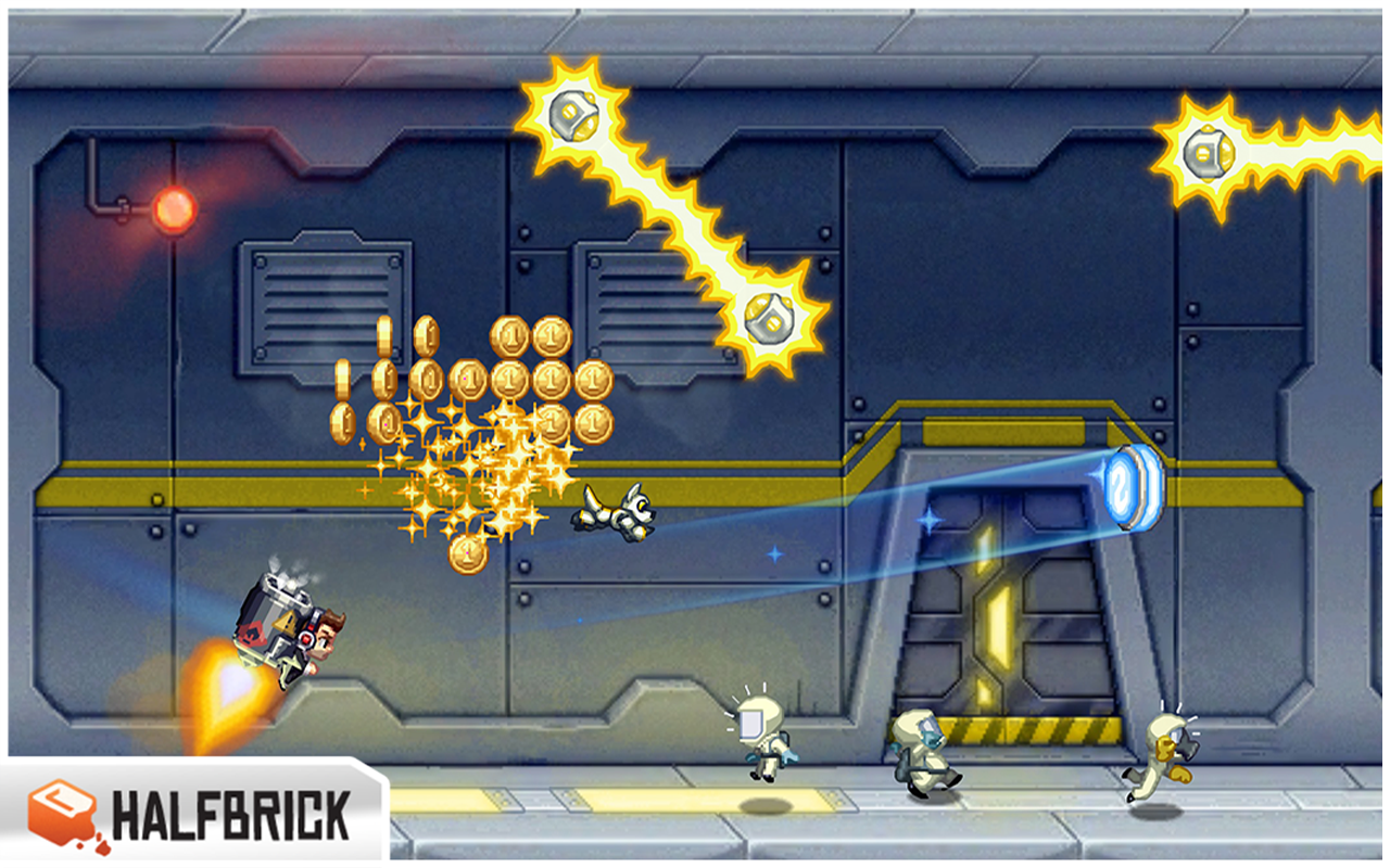 Jetpack Joyride - screenshot