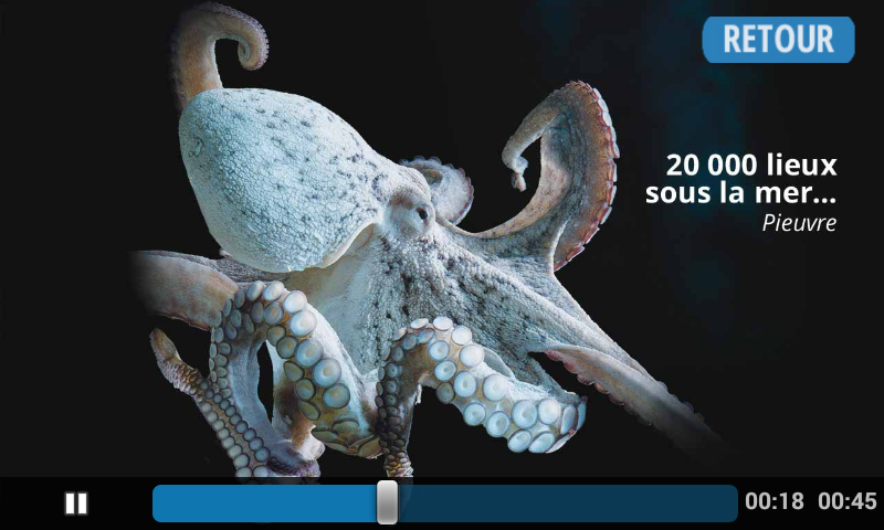 Guide Audio Adulte Aquarium- screenshot