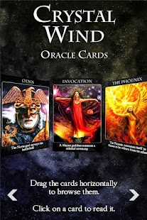 Crystal Wind Oracle Cards- screenshot thumbnail