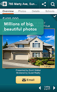 Realtor.com Real Estate, Homes - screenshot thumbnail