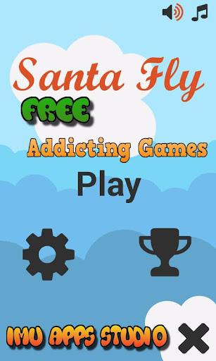 Santa Flying Games