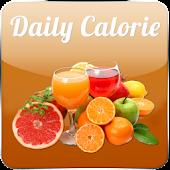 Daily Calorie Meter