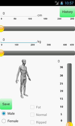 BMI Chỉ số của sức khỏe 3D