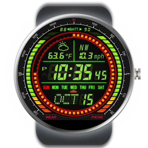 F02 WatchFace for Moto 360- screenshot