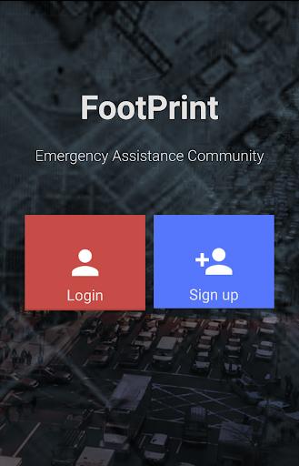 FootPrint Emergency App