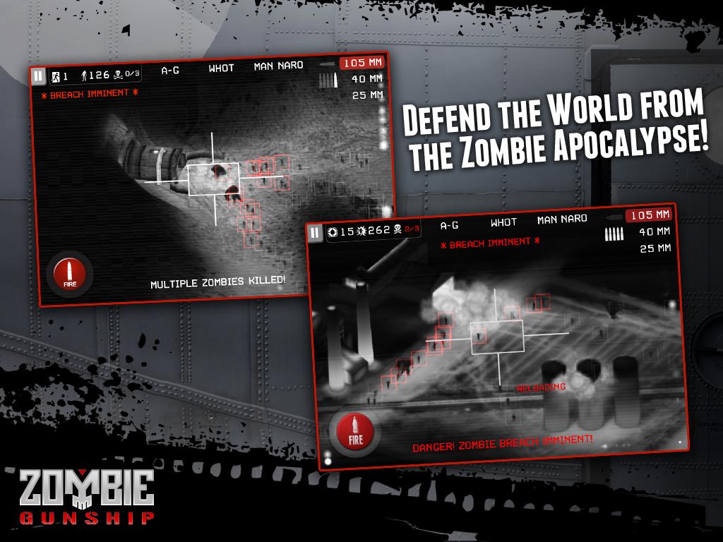 Zombie Gunship screenshot #7