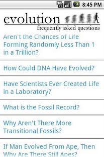 Evolution FAQ- screenshot thumbnail