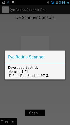 Eye Retina Scanner Pro