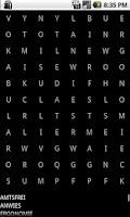 Screenshot of Find the hidden words