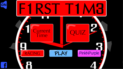 First Time Clock for kids