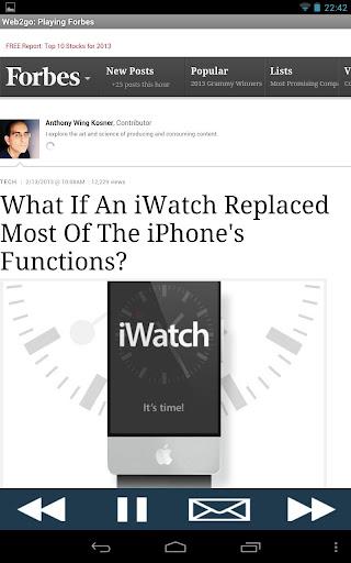 【免費新聞App】Forbes (Read Aloud to You)-APP點子