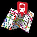 いまどこ?鉄道マップ icon