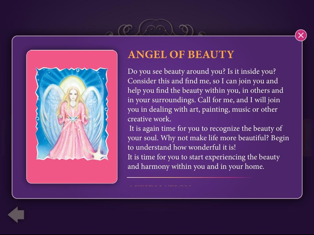 Tarot Angel Cards - screenshot