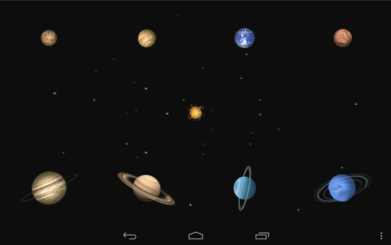 Planet Piano - screenshot
