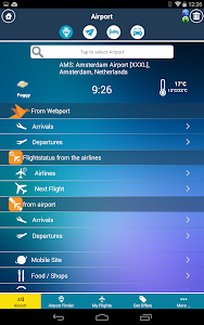 Amsterdam Airport + Radar AMS screenshot 1