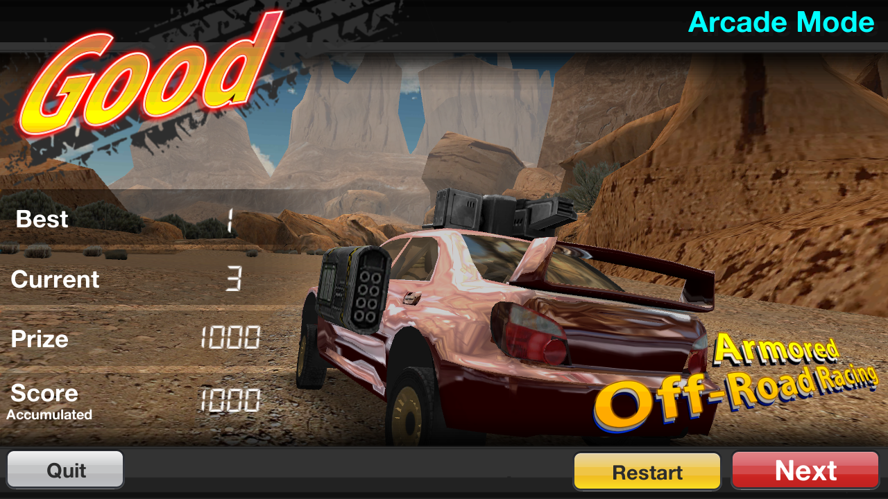 Armored Off-Road Racing- screenshot