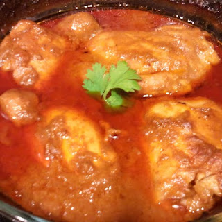 Easy Indian Chicken Curry.
