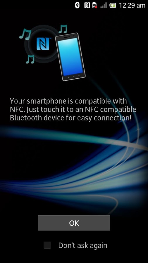 NFC Easy Connect - screenshot