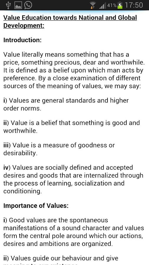 Human Values & Prof. Ethics - screenshot