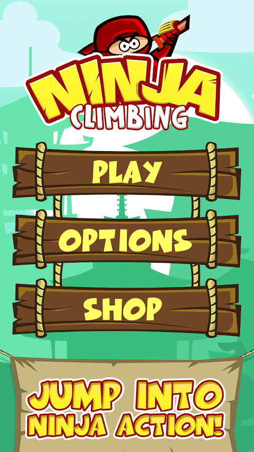 Ninja Climbing- screenshot
