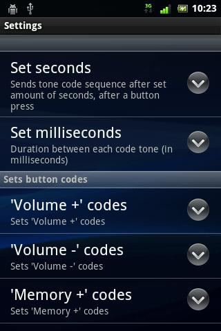 Hearing Aid Control - screenshot