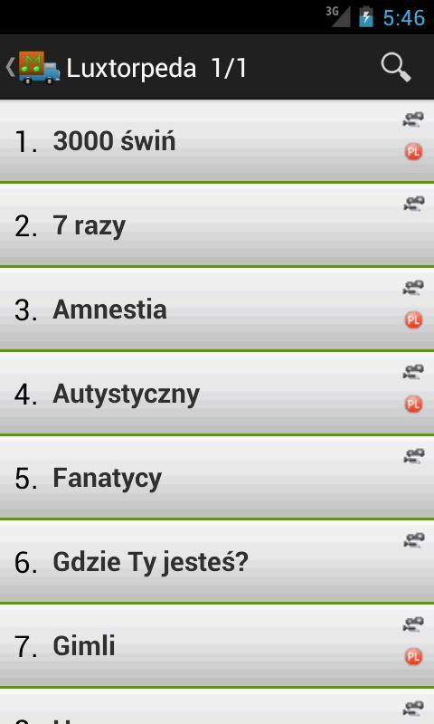 Tekstomobil - teksty piosenek - screenshot