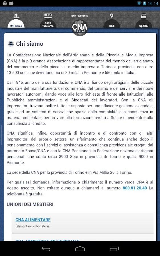 CNA Torino - screenshot