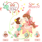 CUKI Theme  Fairy Love Couple
