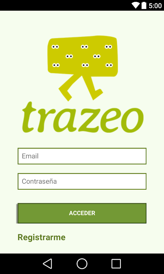 Trazeo- screenshot