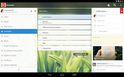 Wunderlist: To-Do List & Tasks Screenshot 25