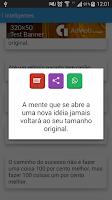 Screenshot of Mensagens Prontas 17mil Frases