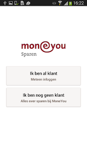 MoneYou Sparen App smartphone - screenshot thumbnail