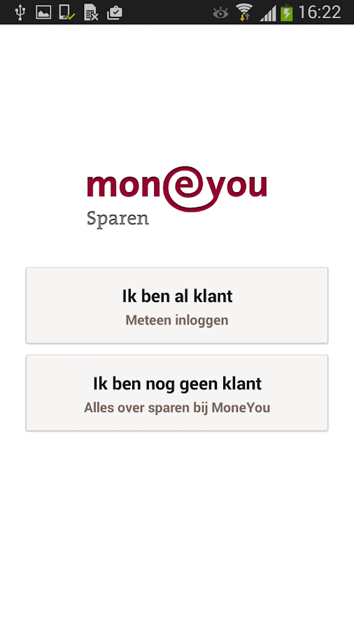 MoneYou Sparen App smartphone - screenshot