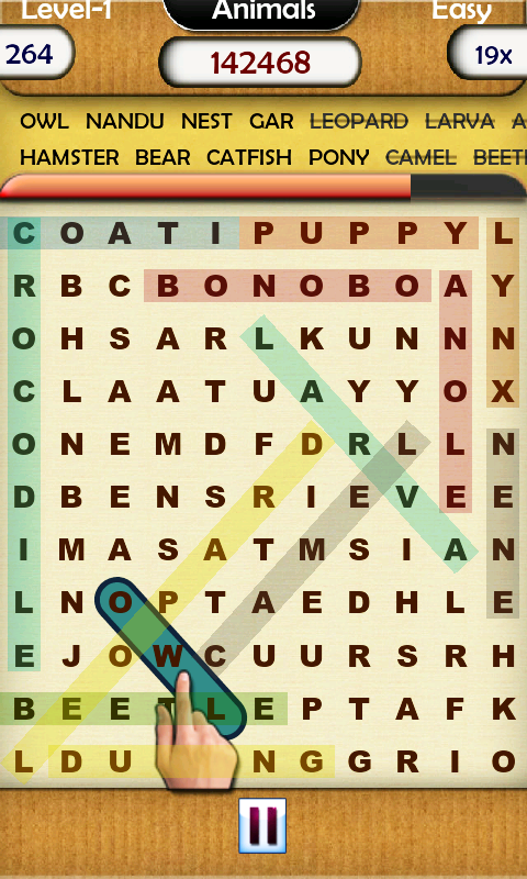 Word Hunt Lite - screenshot