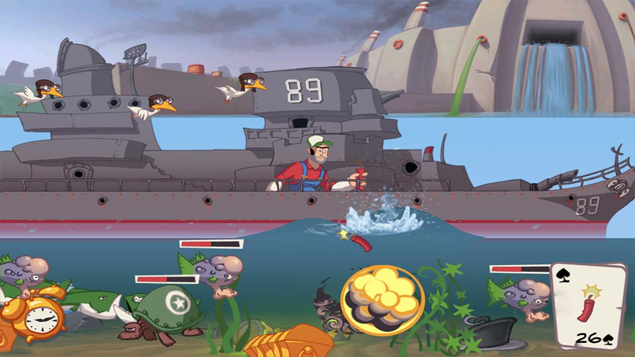 Super Dynamite Fishing - screenshot