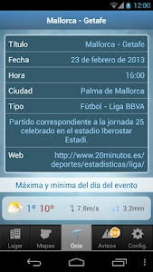 Tiempo y Temperatura screenshot 7