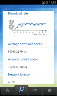 Netradar mobile speed test- screenshot thumbnail