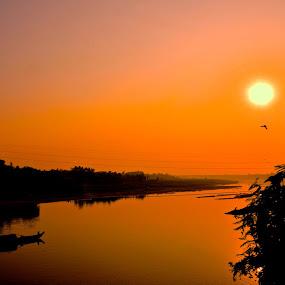 A sleepy hollow.. by Jyoti Chowdhury - Landscapes Beaches