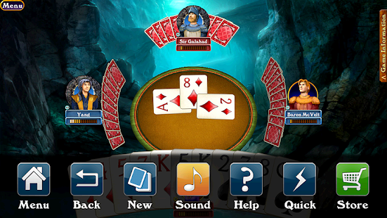 Hardwood Spades - screenshot thumbnail