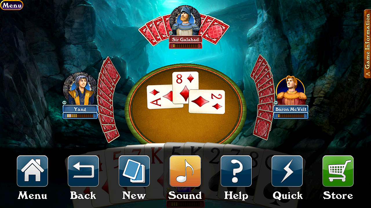 Hardwood Spades- screenshot