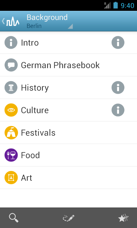Berlin Travel Guide- screenshot
